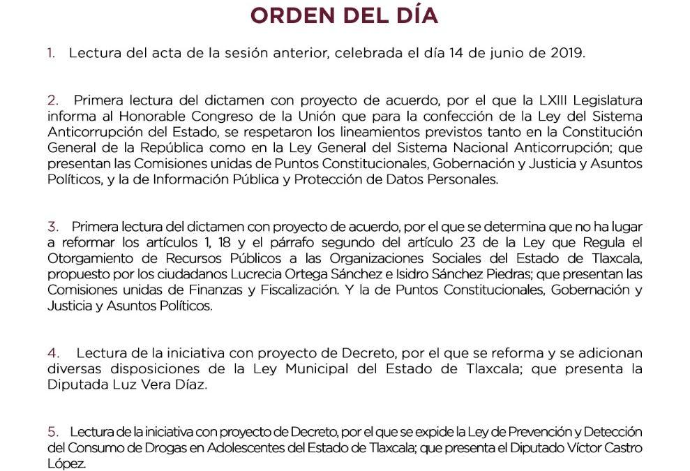 CUARTA SESIÓN ORDINARIA COMISIÓN PERMANENTE