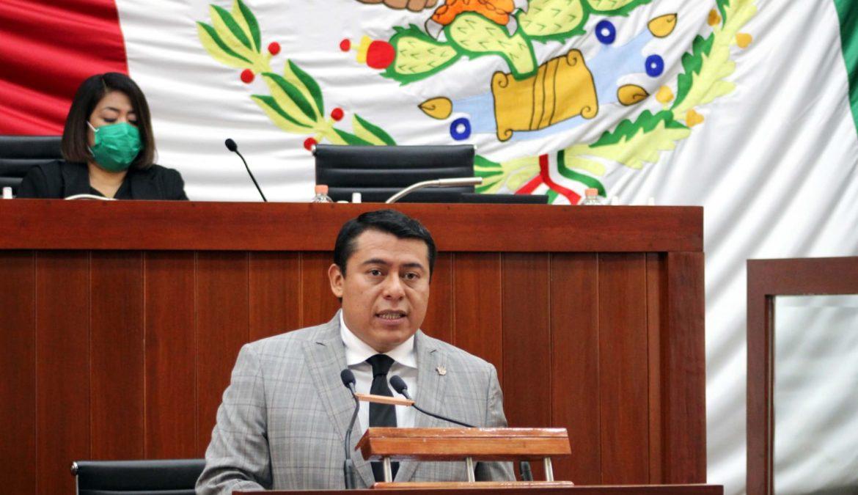 RECONOCE RUBÉN TERÁN AL PODER EJECUTIVO POR ELIMINACIÓN DEL FUERO EN TLAXCALA